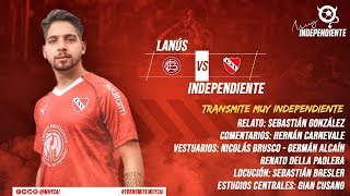 EN VIVO: Lanús vs Independiente - Superliga Argentina