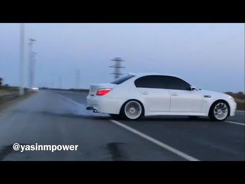 bmw e60 m5 drift compilation