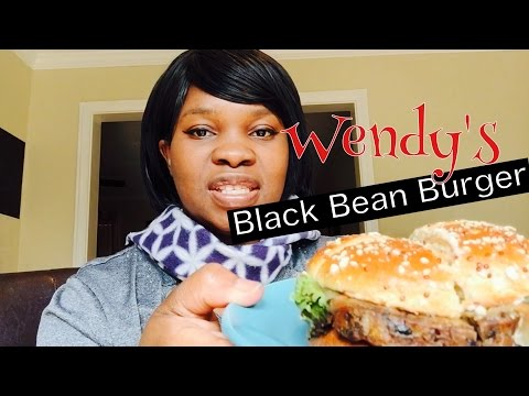 Wendy's Black Bean Burger Review