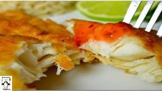 Рецепты блюд из рыбы.Рыбное филе, жареное в пивном кляре