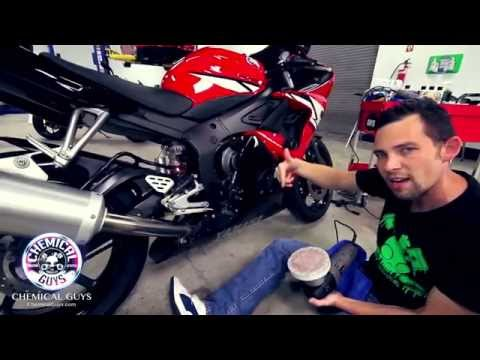 How To Clean a Motorcycle - Chemical Guys Detailing Yamaha R6
