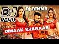 Dimaak Kharaab DJ song    EDM Tapori Mix    DJ Dinna    Telugu Dj Song    ismart Shankar Dj Songs