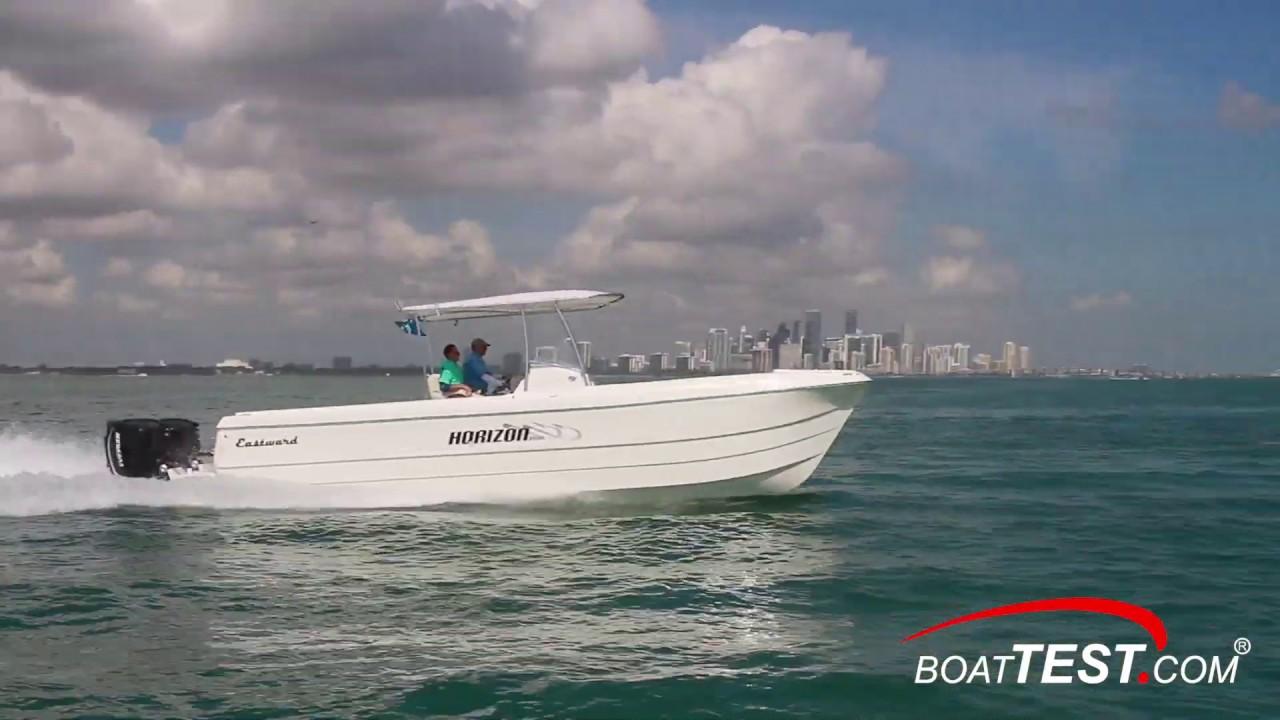 Eastward Boats Horizon 3000 (2019-) Test Video - By BoatTEST com