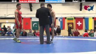 66 KG R16 - Tarek Aziz Benaissa (ALG) vs Sayed Abdelmonem Sayed (EGY)