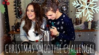 CHRISTMAS SMOOTHIE WITH TANYA BURR! | ThatcherJoe