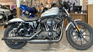 Iron 1200 Sportster XL1200NS Harley-Davidson 2020 Barracuda Silver