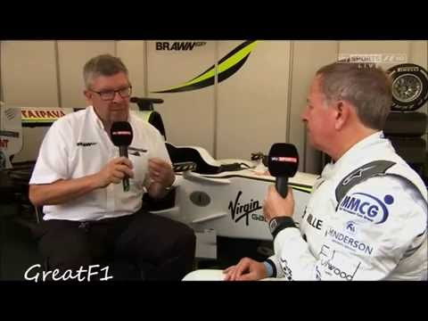 A chat with Ross Brawn. British GP 2016