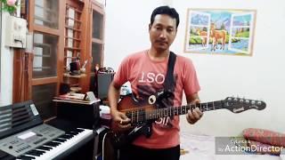 DIN JOLE RATI JOLE ON GUITAR BY CHITTARANJAN SAIKIA