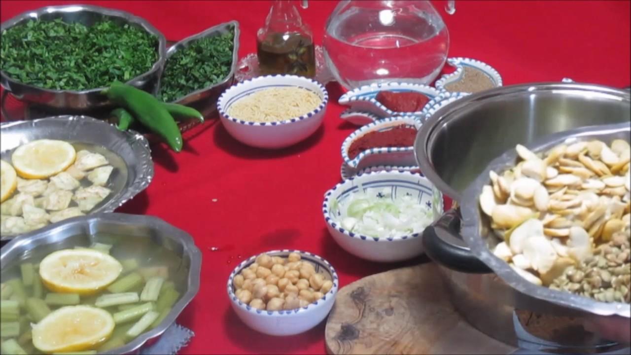 Soupe aux l gumes hlelem recette tunisienne - Youtube cuisine tunisienne ...