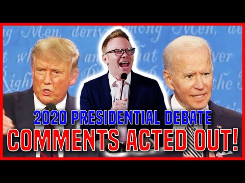 2020 PRESIDENTIAL DEBATE | YouTube Comment Theater