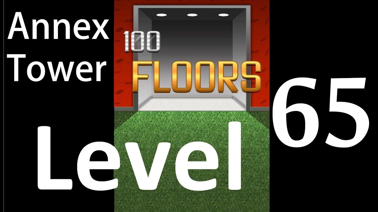 100 Floors Level 65 Annex Tower Solution Walkthrough Youtube
