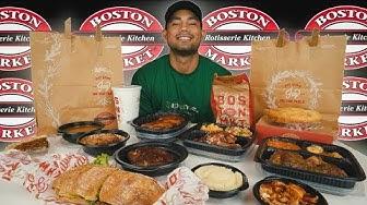 Boston Market Challenge | 8000 CALORIES! (Thanksgiving-ish-special)