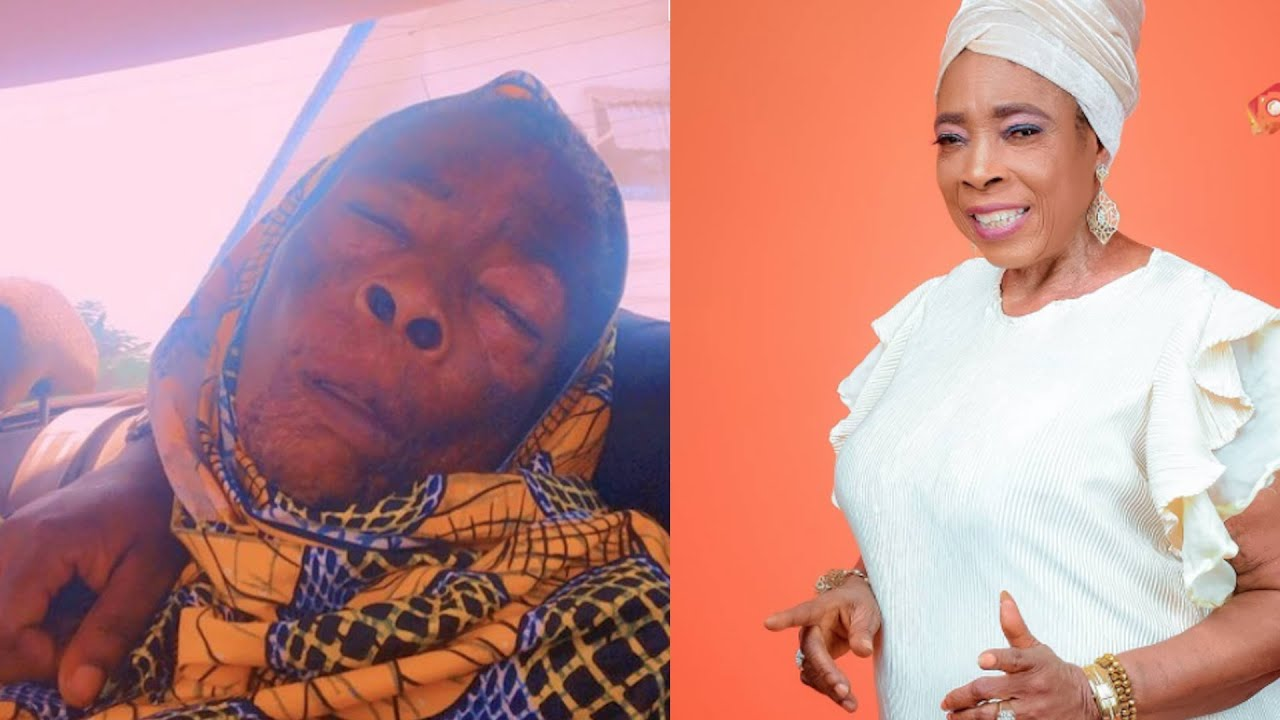 Download VETERAN ACTRESS IYABO OKO IS NOT DEAD SEEKS FINANCIAL HELP ON SICKBED