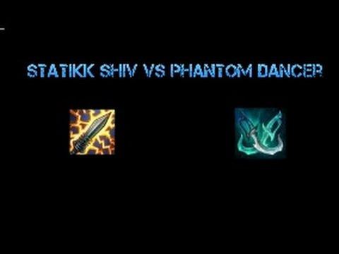 Phantom Dancer vs Statikk Shiv