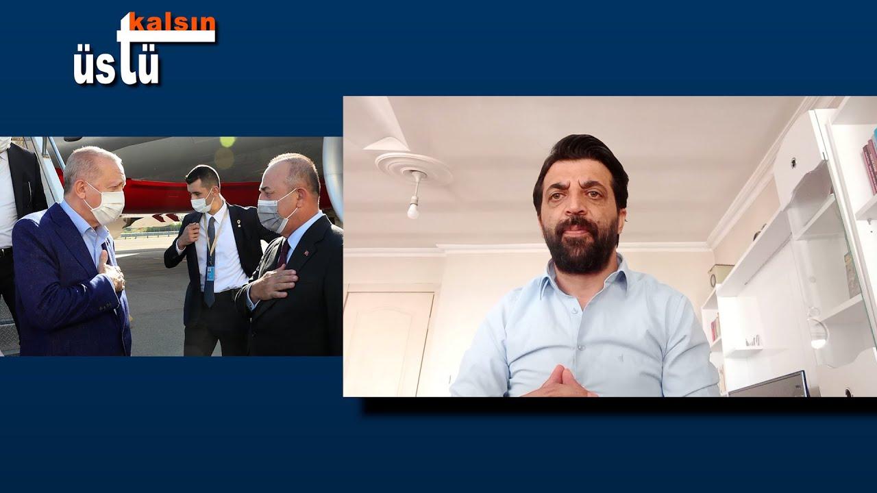 #Gazeteci #OktayCandemir #Erdoğan 'ın #ABD ziyaretinde #MevlütÇavuşoğlu karşılaması #ÜstüKalsın da