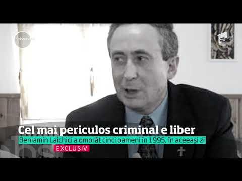 Beniamin Laichici, cel mai periculos criminal din istoria postdecembristă a României, este liber