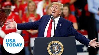Trump slams Joe Biden, Rep. Ilhan Omar during rally in Minnesota | USA TODAY