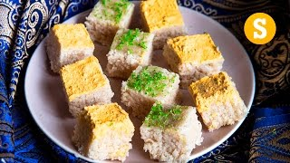 1000 pieces of Indian Burfi - For a wedding! #CelebrateWithSORTED #Ad
