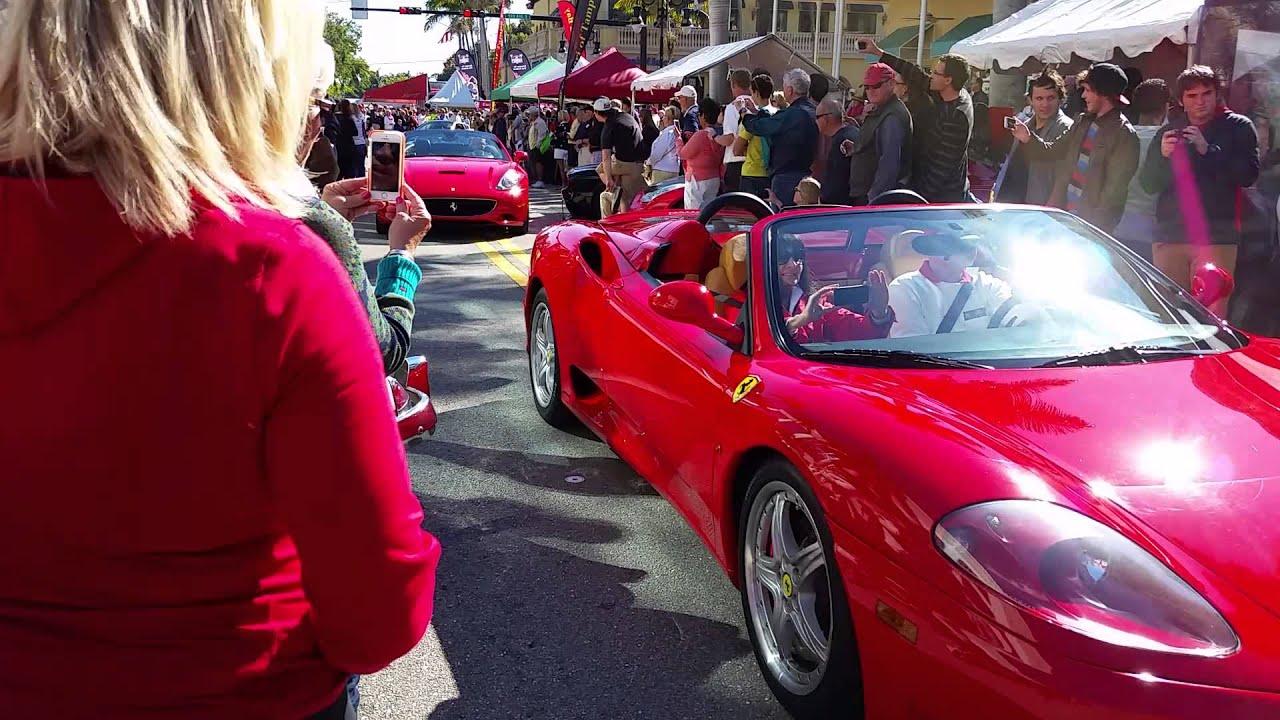 Ferrari Car Show Naples Fl