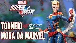 MOBA MARVEL SUPER WAR | TORNEIO GAME START 2019 | NOVO MOBA DA MARVEL E NETEASE PARA ANDROID E IOS