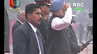 NCC RDC-2008 PM Rally at Garrison Parade Ground, Delhi