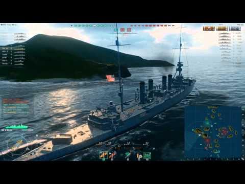 World of Warships (FR): Le croiseur Omaha (Mangez mes torpilles !)