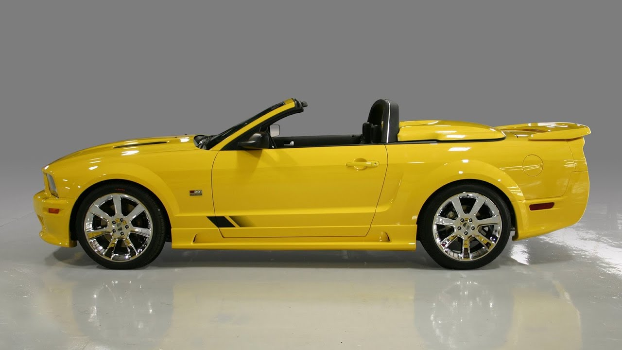 saleen ford mustang s281 speedster 2006 youtube. Black Bedroom Furniture Sets. Home Design Ideas