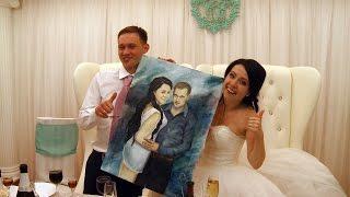 Поздравления молодожёнов от подружек невесты