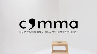 COMMA - Graduation Show Promotional Video