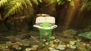 初夏の山道。蛙の姿のまま狸に戻れなくなった次兄・矢二郎を治すための...