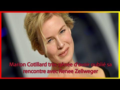 Marion Cotillard très gênée d'avoir oublié sa rencontre avec Renee Zellweger