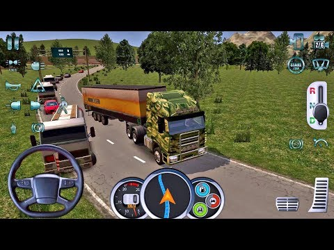 Euro Truck Driver 2018 #9 - New Truck Game Android gameplay #truckgames #androidgames