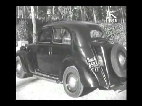 Auto a gassogeno - Auto mit Holzvergaser