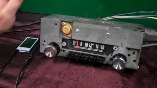 1964 Plymouth Sport Fury original AM radio