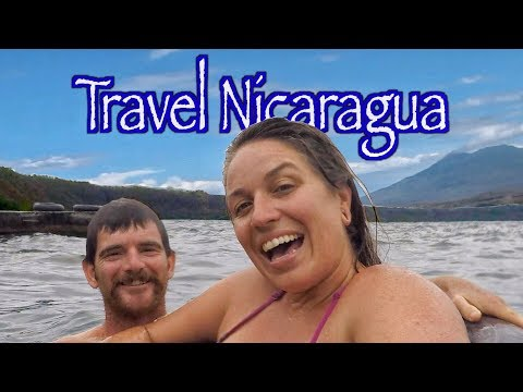 Traveling in Nicaragua | Volcano Masaya & Lake Apoyo Ep.53