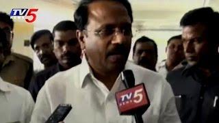 TS Health Minister Laxma Reddy Inspects Gandhi Hospital | TV5 News