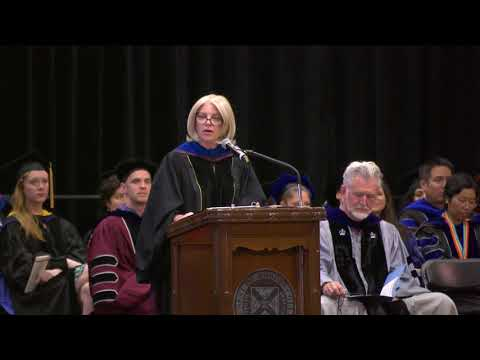 Dr Marjorie Hass - 2017 Opening Convocation