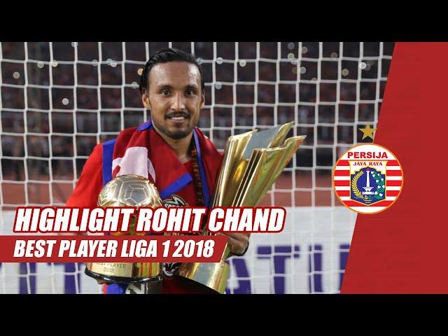 Deretan Gol dan Assist Rohit Chand, Pemain Terbaik Liga 1 2018