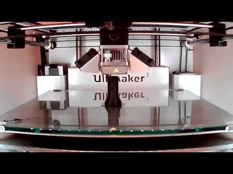 Ultimaker 2 - 3D Printing timelapse of a working Recorder (musical instrument) in PLA