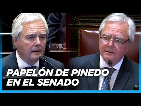 No hubo quórum para tratar el desafuero a CFK y Pinedo tuvo que patear el corner e ir a cabecear