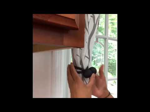 MAGNETIC CURTAIN TIEBACK REVIEW!!!!