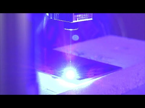 Laser Cutting with a 3D Printer