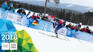 Cross-Country 5km Free - Maya Yakunina (RUS) wins gold | Lillehammer 2016 Youth Olympic Games