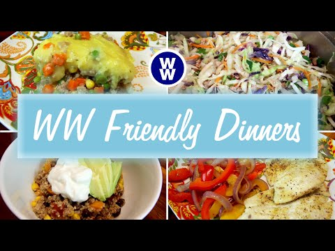 What's For Dinner? | Quick and Easy WW meals | Weight Watchers