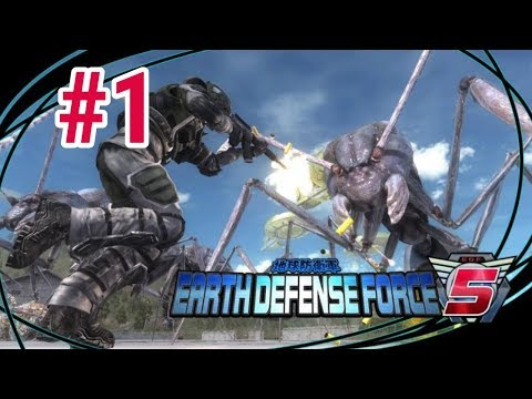 [Episode 1] Earth Defense Force 5 PS4 Gameplay [Tutorial/Opening] thumbnail