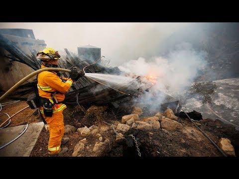 LIVE Evacuations Near Santa Barbara