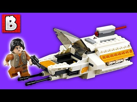 Lego Star Wars The Phantom Set 75048 | Unbox Build Time Lapse Review