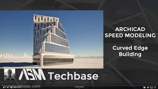 Curved Edge Building Design in Archicad
