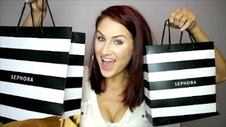 sephora haul reviews   auden hesson