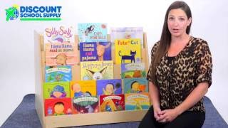 Myperfectclassroom® Book Display With Rear Storage Mpc3080